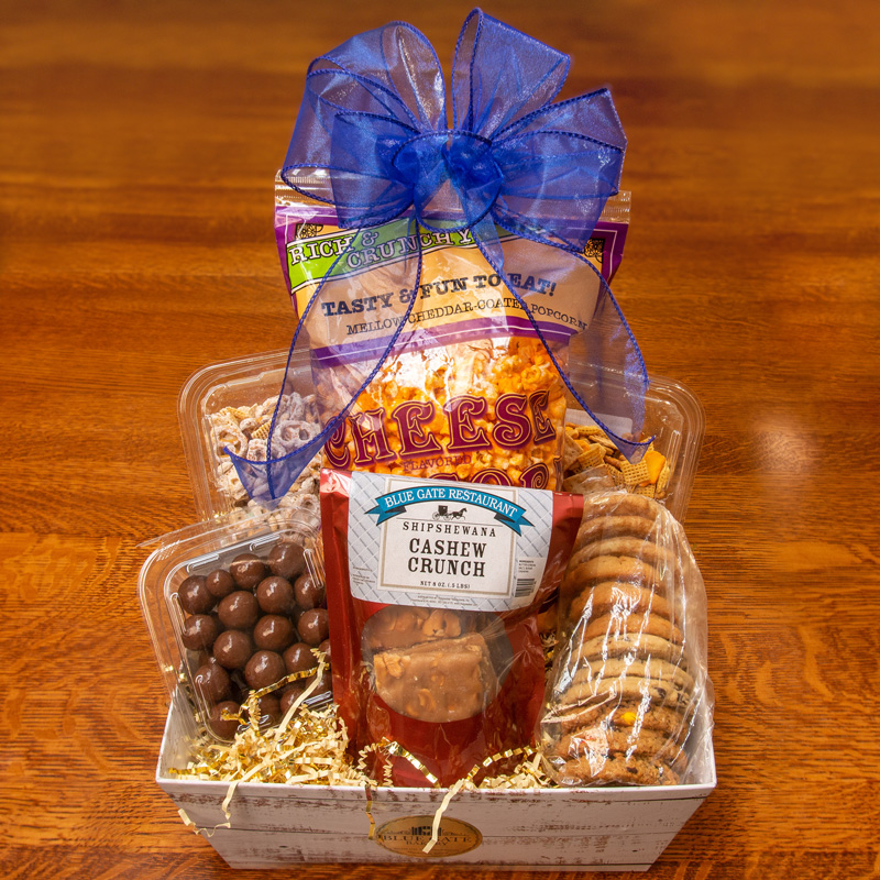 Blue Gate Snack Attack Basket