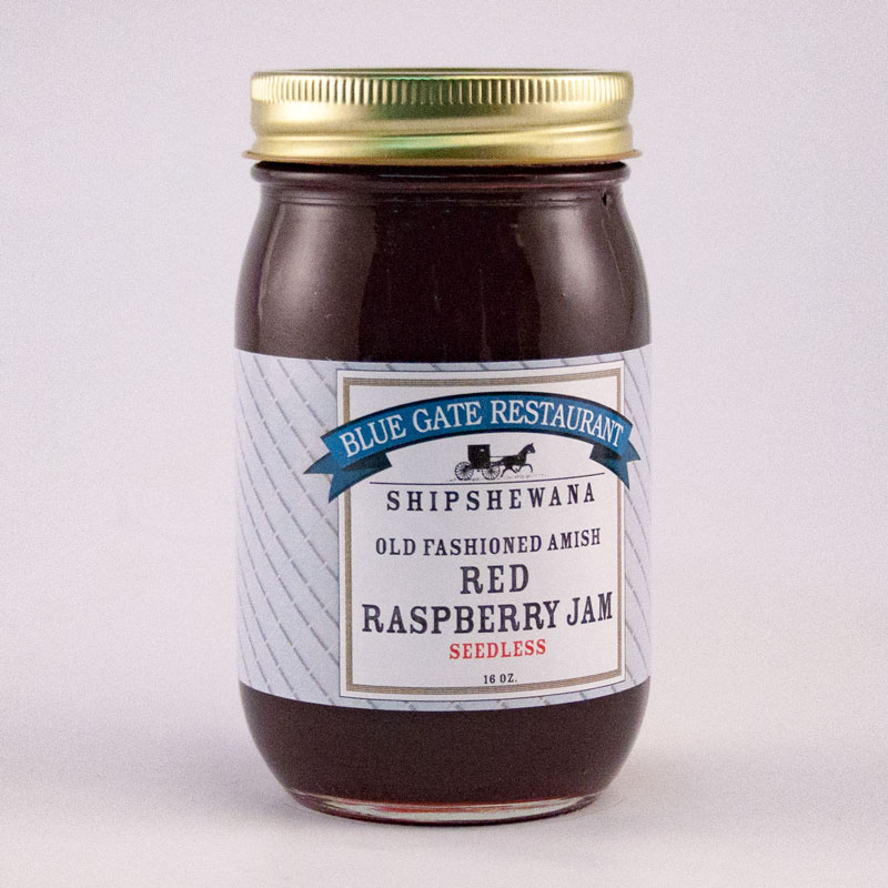 Seedless Red Raspberry Jam - 16 fl oz