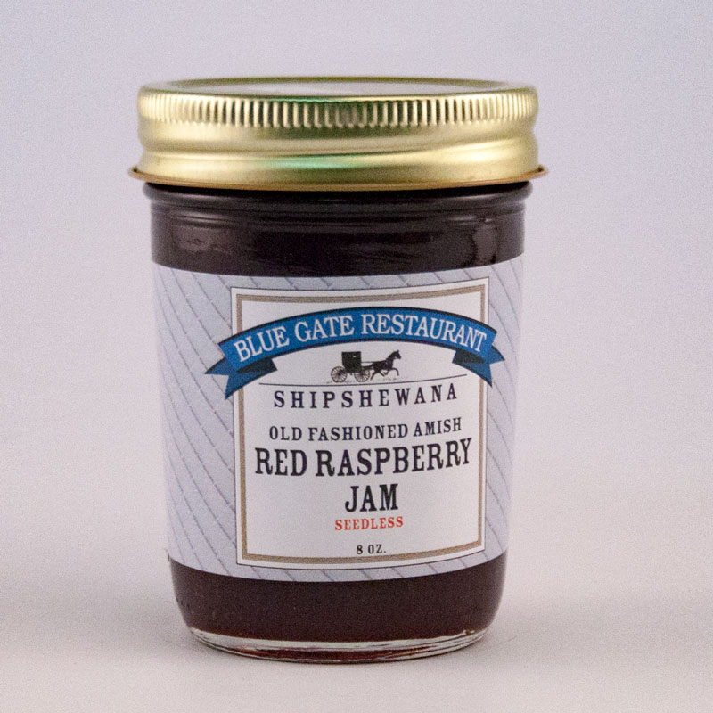Seedless Red Raspberry Jam - 08 fl oz