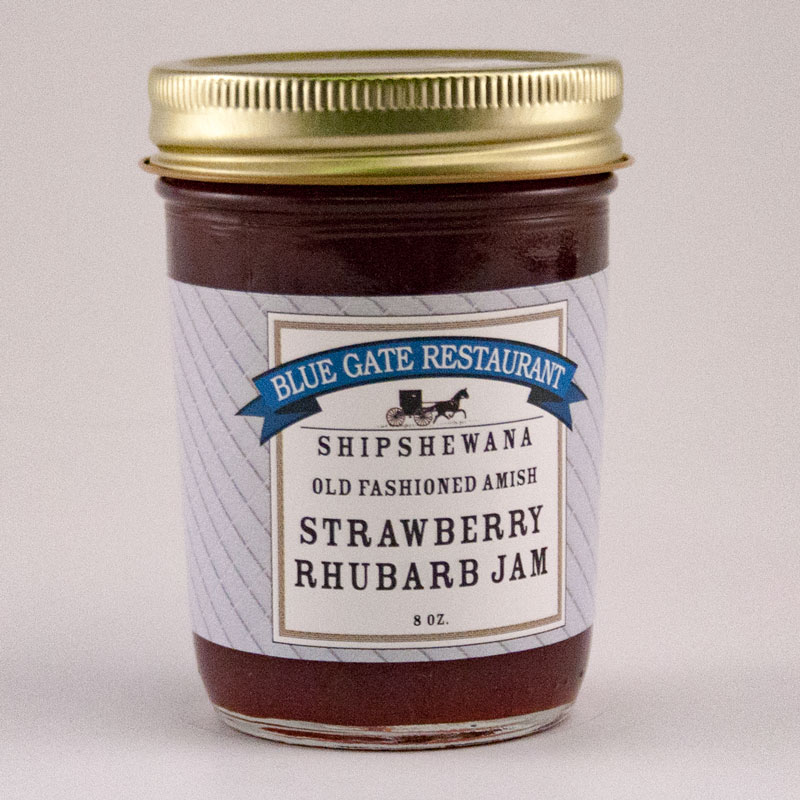 Strawberry Rhubarb Jam - 08 fl oz